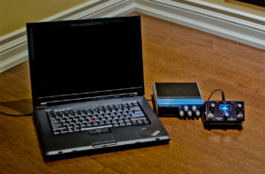 Laptop and USB interface
