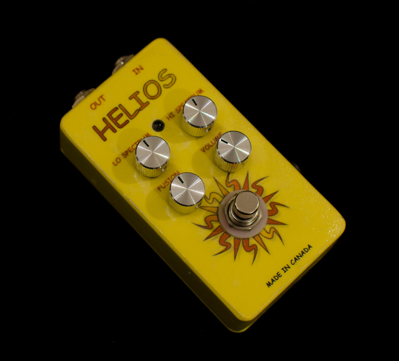 Helios booster pedal