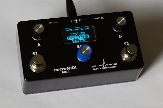 microMIDI Foot Controller