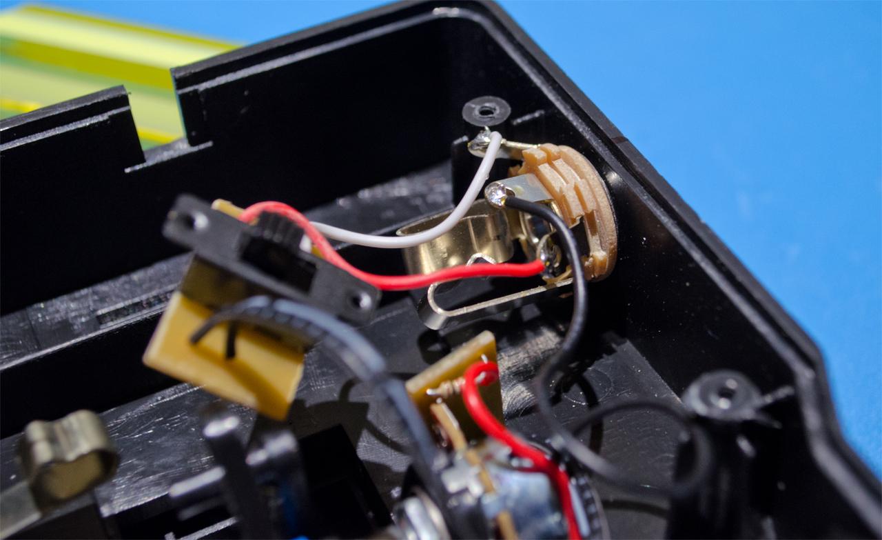 solder trs wires